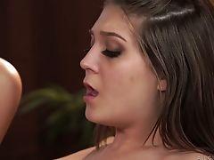 Pretty Lena Nicole Is Pleasing Her Gf Before Steamy Girl/girl Romp