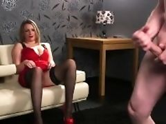 'bigboobed Uk Peeker Spreading Gams And Wailing During Joi'