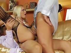 Cougar Gets Shagged In Her Asshole
