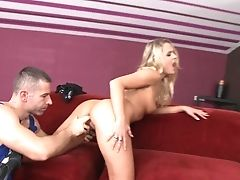 Blonde Babe Blonde Can't Stop Fucking 'cause She Loves Bum Crevice Lovemaking So Much