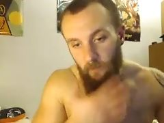 Tattooed Webcam Bearded Dude Was Fucking His Lusty Gf Rear End Hard