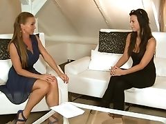Ginger-haired Silvia Saint Loves Masturbating For You To Witness And Love