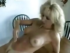 Hairy Pussied Cougar Jizz Shot