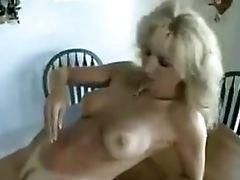 Hairy Pussied Cougar Jizz Shot