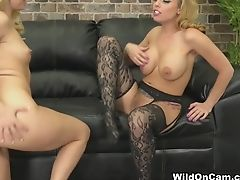 Best Superstars Aaliyah Love, Britney Amber In Crazy Stockings, Pussy Eating Adult Clip