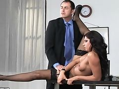 Behind The Scenes Of Office Fucking With Sexy Cipriana