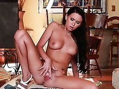 Amazingly Hot Breathtaker Chloe James Masturbates With Passion And Desire