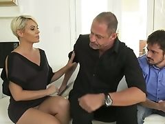 Nasty Wifey Helena Locke Gets Fucked Under Her Hubby's Nose