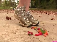 Penny Crushing Humid Gummy Worms In Sneakers Preview