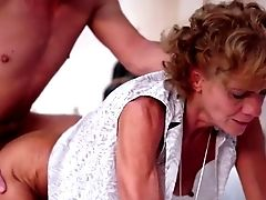 Skinny Granny Fucked By A Young Guy