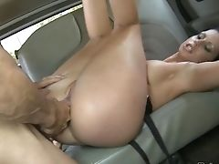 Dark Haired Needs Nothing But Dude's Hard Meat Pole In Her Twat To Get Orgasm