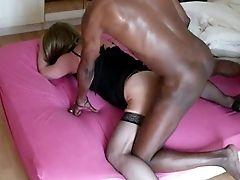 Sluty Matures Crossdresser Drilled By Black