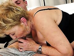 Blonde With Giant Breasts Gets Her Cascading Raw Fuck Fuck Hole Rammed