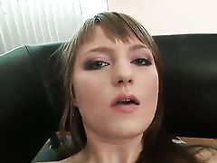 Youthful Inexperienced Dark-haired Gets Her Butt Drilled