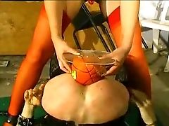 French Pornography - Tranny Ass Fucking Objects Injection