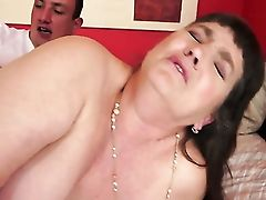 Dark Haired With Massive Bra-stuffers Gives Providing Oral Pleasure To Her Horny Bang Acquaintance