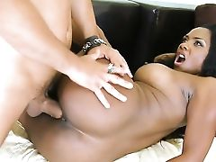 Voodoo Makes His Rock Hard Boner Vanish In Fabulously Hot Persias Mouth
